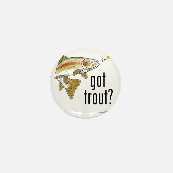 got trout 2 Mini Button