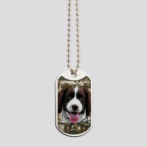 French_Quarters_English_Springer_Spaniel_ Dog Tags