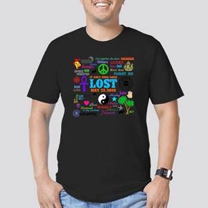 Loves Lost MP Men's Fitted T-Shirt (dark)