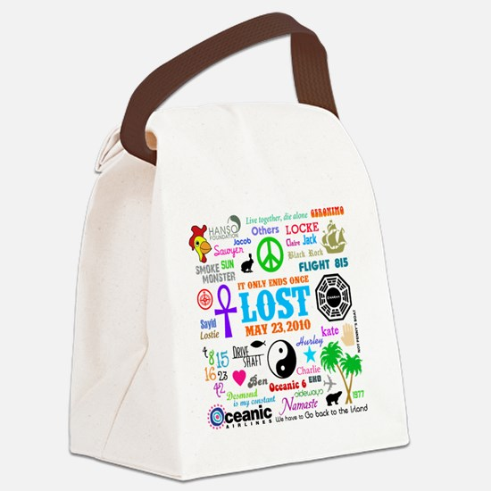 Loves Lost MP Canvas Lunch Bag
