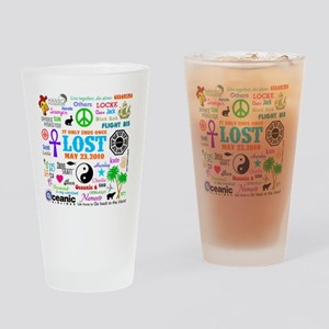 Loves Lost MP Drinking Glass