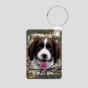 French_Quarters_English_Sp Aluminum Photo Keychain