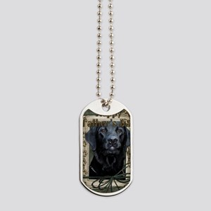 French_Quarters_Black_Labrador Dog Tags
