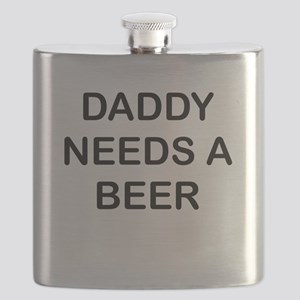 DADDY NEEDS A BEER Flask