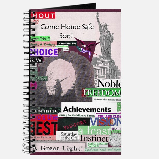 comehomeson16x20red Journal