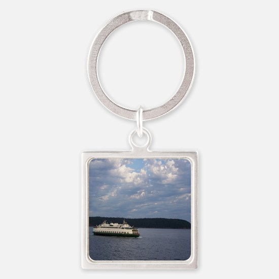 Ferry-MP Square Keychain