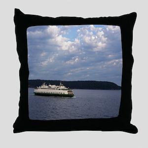 Ferry-MP Throw Pillow