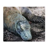 Komodo dragon Fleece Blankets