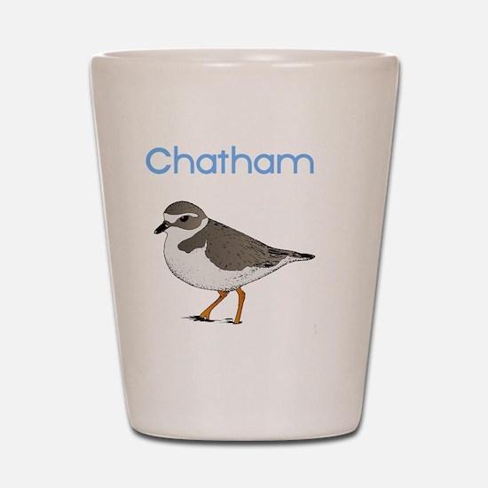 chatham-plover Shot Glass