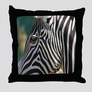 Zebra-MP Throw Pillow