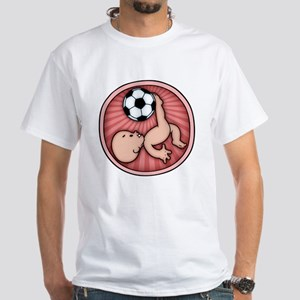 soccer-womb2-T White T-Shirt