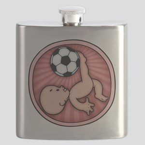 soccer-womb2-T Flask