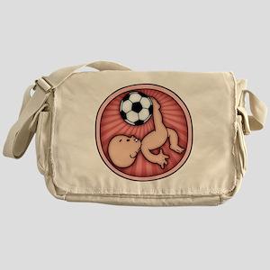 soccer-womb2-T Messenger Bag
