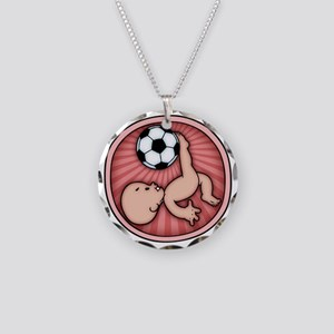 soccer-womb2-T Necklace Circle Charm