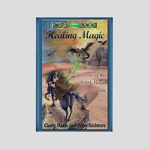 Healing Magic Greeting Card Rectangle Magnet