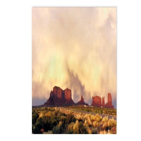 Monument Valley Storm Postcards (Package of 8)