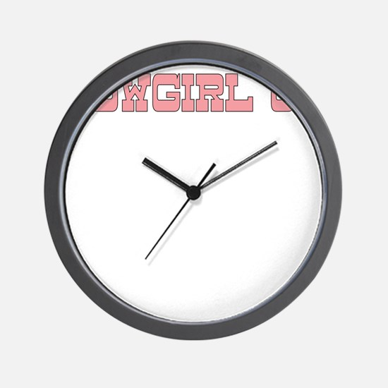 COWGIRL UP Wall Clock