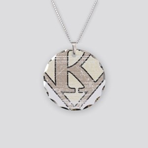 SUP_VIN_K Necklace Circle Charm