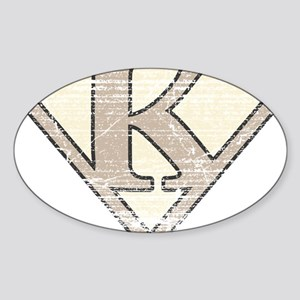 SUP_VIN_K Sticker (Oval)