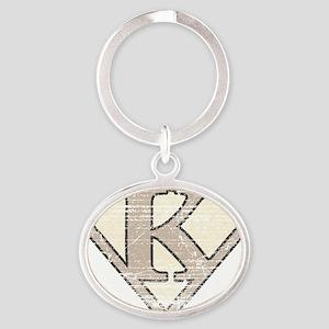 SUP_VIN_K Oval Keychain