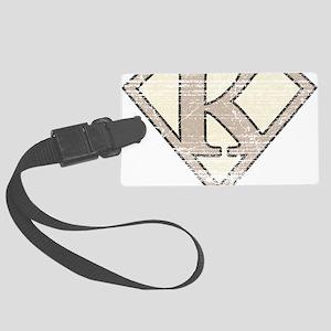 SUP_VIN_K Large Luggage Tag