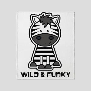 wildfunky Throw Blanket