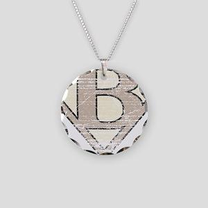 SUP_VIN_B Necklace Circle Charm