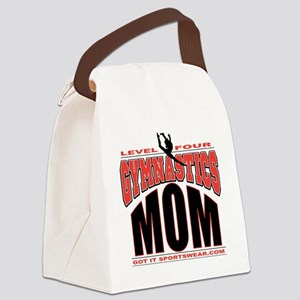 level4mom Canvas Lunch Bag