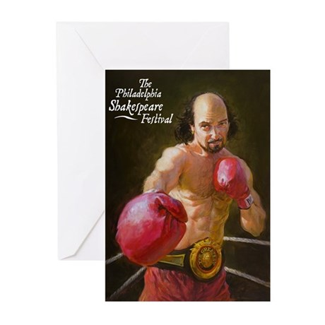 Boxing Shakespeare Greeting Cards (Pk of 10)