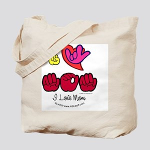 I_Love_MomFSbbt Tote Bag
