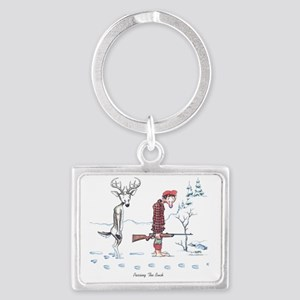 2-Passing the Buck Landscape Keychain