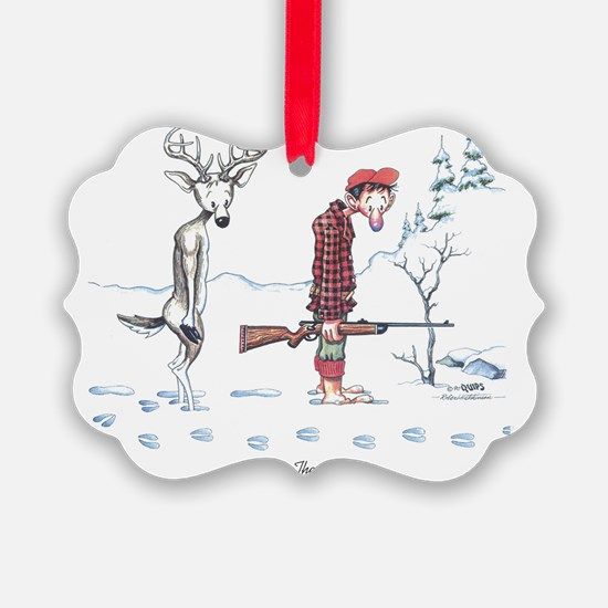 2-Passing the Buck Picture Ornament