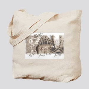 Italy Montage Tote Bag