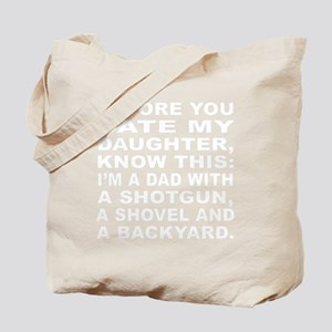fathers day 1_dark Tote Bag
