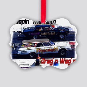 dragnwagn-keepinthefaith Picture Ornament