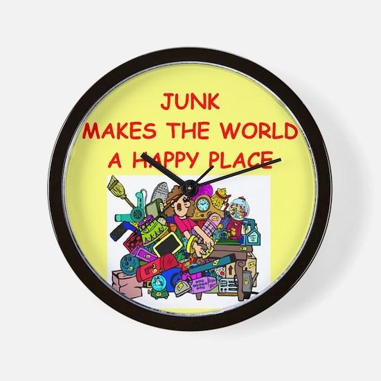 JUNK.png Wall Clock