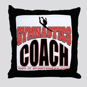 JUSTCOACH Throw Pillow