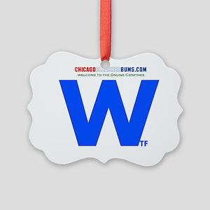 2-Wtf Picture Ornament