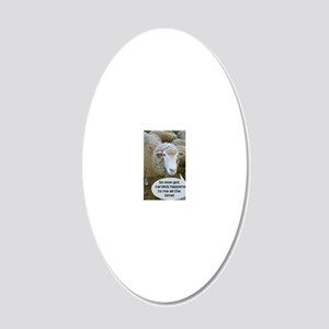 carded051210 20x12 Oval Wall Decal