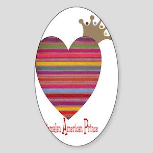 heartprince Sticker (Oval)