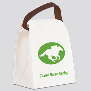 Born TO Run for black tees Canvas Lunch Bag