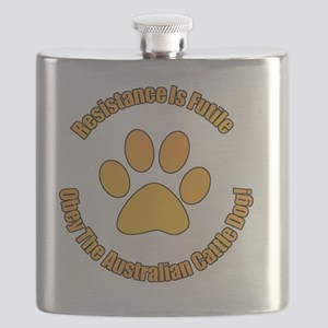 Australian Cattle Dog Flask