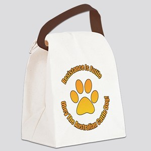 Australian Cattle Dog Canvas Lunch Bag