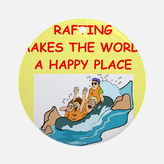RAFTING.png Ornament (Round)