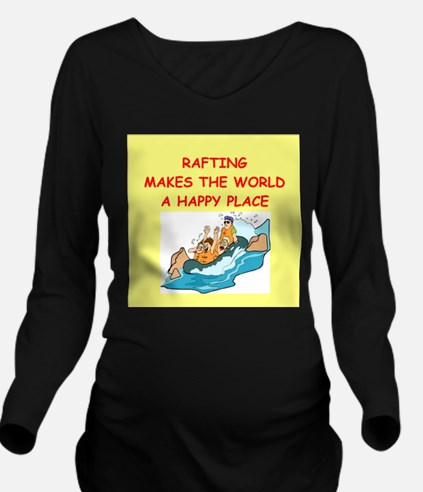 RAFTING.png Long Sleeve Maternity T-Shirt