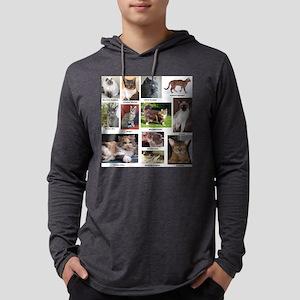 Cat Breed Full Color Mens Hooded Shirt