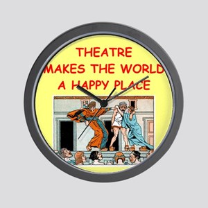 THEATER.png Wall Clock