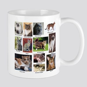 Cat Breed Full Color 11 oz Ceramic Mug
