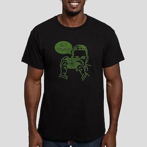 Say Tofu Men's Fitted T-Shirt (dark)