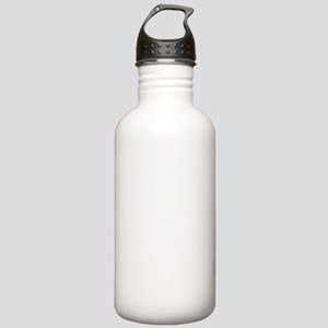 303606White Stainless Water Bottle 1.0L